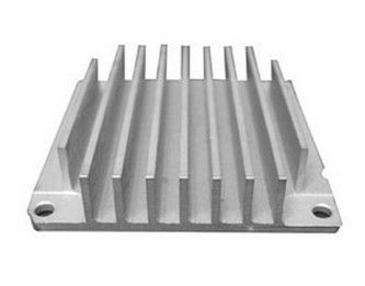 Machines 6063-T5 Aluminium Heatsink Extrusions with alodine surface treatment