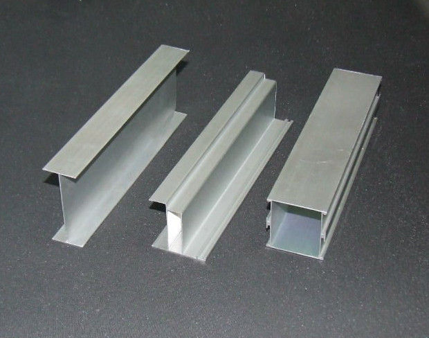 Product Aluminium Sections : Mill finished aluminum extrusion channel frame profiles t