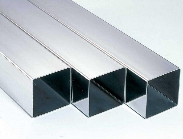 Industrial Mill Finished Aluminum Extrusion Rectangular Tube For Motor Shell