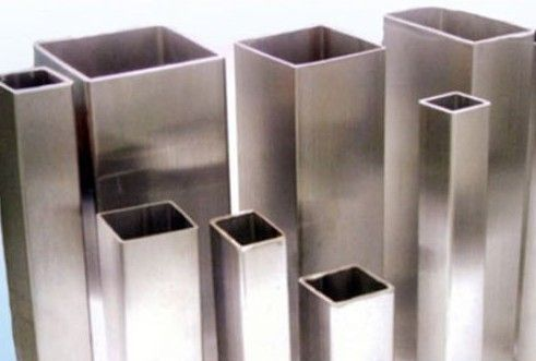 Thin Wall Aluminum Extrusion Rectangular Tube / Extruded Aluminum Shapes