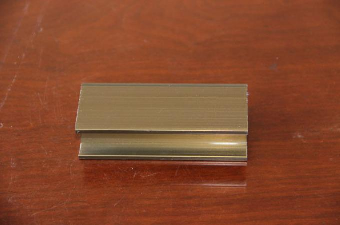 Anodized structural sliding aluminum doors Profiles , Powder Paint