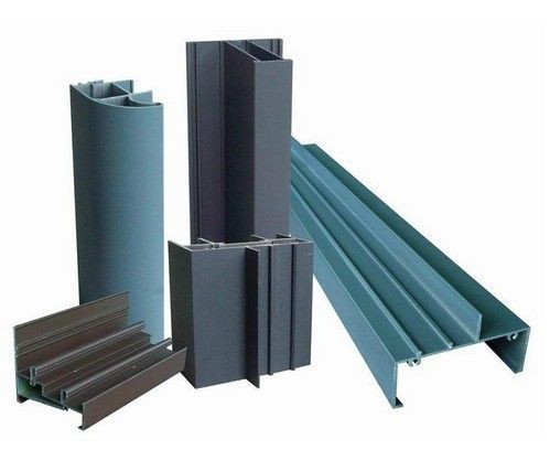Residential Buildings extruded aluminium profiles , High performance 1