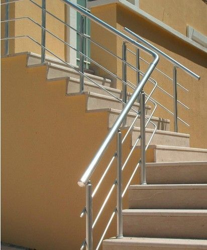 Indoor Aluminum Extrusion profile For Hand Railings Anodized