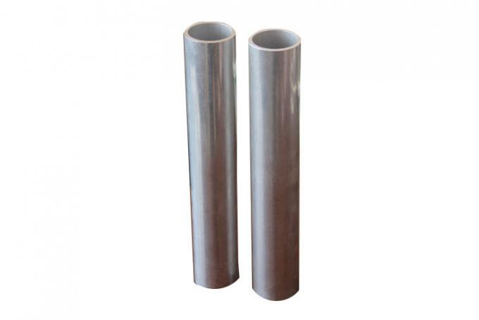 Fluorocarbon Powder Spray Coated Brushed Anodized Aluminum Tube / T6061 Aluminum Tubing