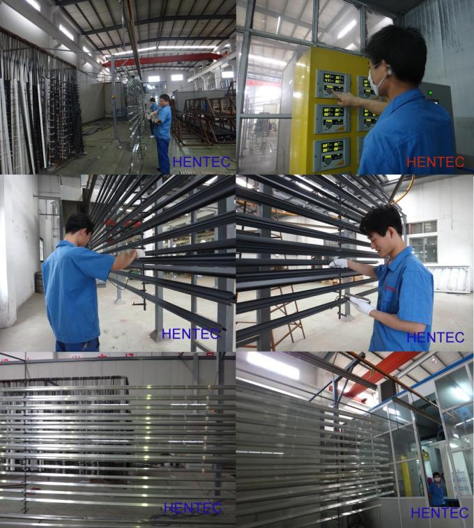 Anodized Industrial Aluminum Framing System , 6063 T5 Aluminum Assembly Line