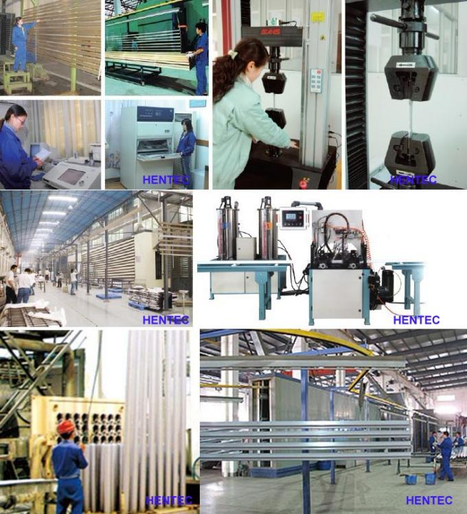 Customized Sections / Construsion Aluminum Profile Large Size