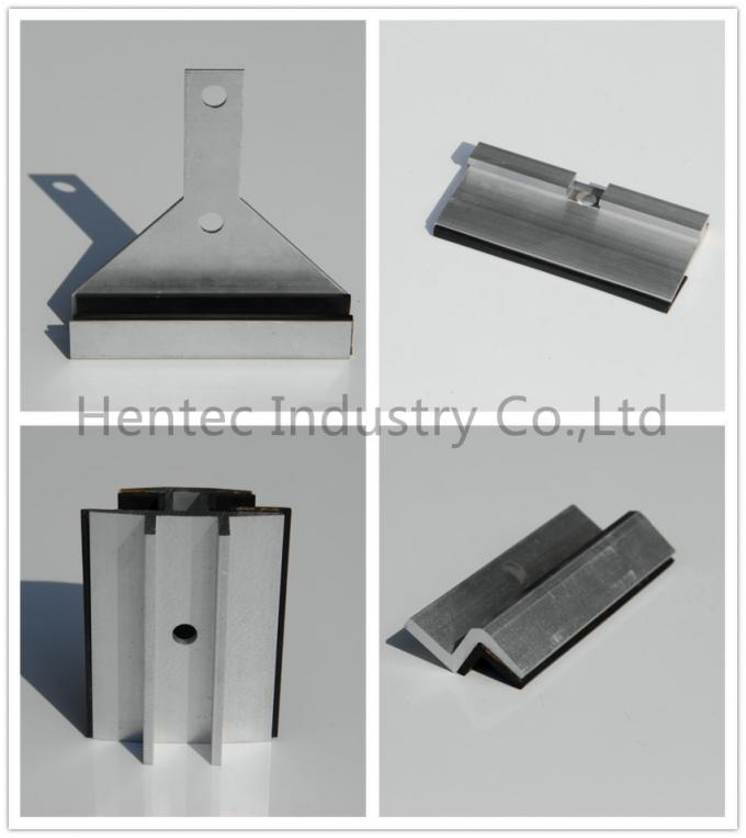 Mid Clamp Solar Panel Roof Mounts with anodized surface treatment
