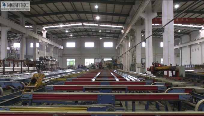 Anodized Industrial Aluminium Profile For Assembly Stage / Assembly Line
