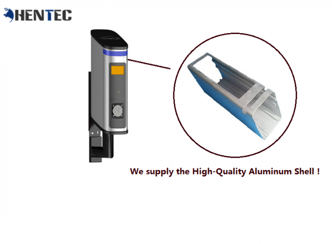Case Model Industrial Aluminium Profile For EV Charger / EV Charging Piles , Powder Painting
