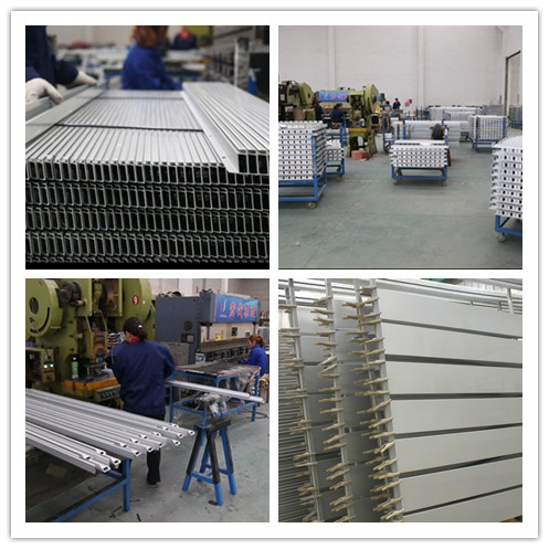 6063 Extruded Aluminum Shapes T - Slot Aluminum Alloy Assembly Line Profiles