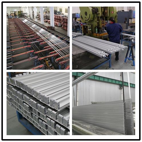 6063- T5 Custom Aluminum Extrusions , Industrial Extruded