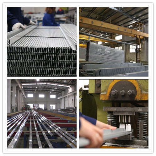 Wear Resistance 6061- T6 Alu Profilsystem Assembly Production Line For Industry