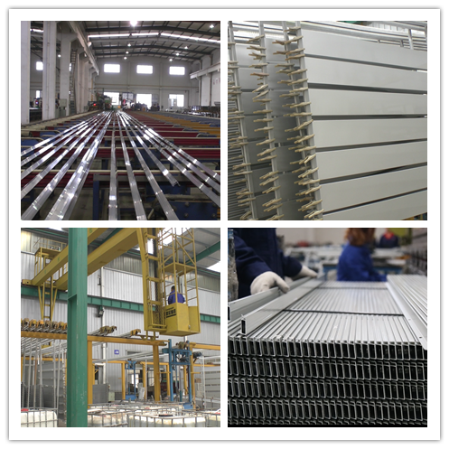 Custom Made Aluminium Profile System Assembly Stage / Assembly Line Longlife