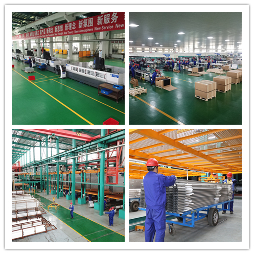 6061 / 6063 Extruded Aluminum System Assembly Production Line For Industry