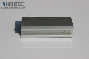 China Clear / Black Extruded Aluminum Profile Anodizeing Aluminium Construction System supplier