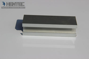 China Custom Polished Aluminum Extrusion Profile Bending Cutting PVDF Paint supplier