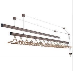 China Steel Ppolished 6061 Aluminum Profile For Automatic Drying Rack supplier