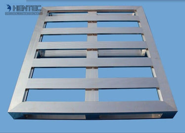 China Pallet Aluminum Extrusion Shapes Lightweight With Anodized Surface supplier
