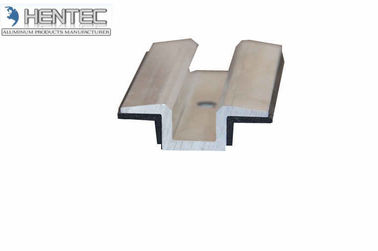 China Commercial Aluminum Extrusion Profiles Cutted For Solar Roof Mounting Systems supplier