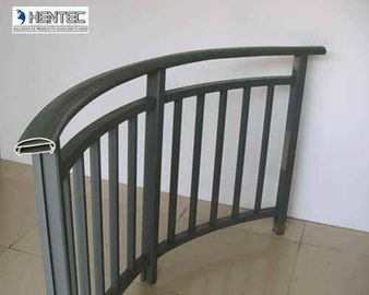 China Custom Extrusion Aluminum Porch Railing GB 5237-2008 Standard supplier