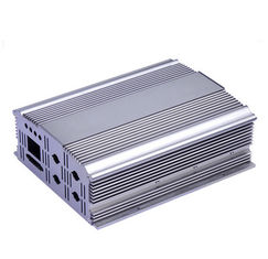China Silvery Polishing Aluminium Extrusion Profiles Aluminum Cover supplier