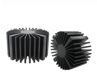 China Solid Aluminum Extrusion Profiles , Led Lightling Extruded Heat Sink supplier