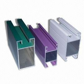 China Electrophoretic Coated 6061 Aluminum Profile , Q/320281/PDWD-2008 Structural Aluminium Profiles supplier