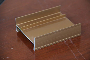 China Anodized aluminum door frame extrusions , aluminum extrusion profiles supplier