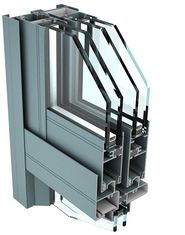 China 6061 T6 Aluminum Curtain Wall Profile for Industrial Buildings supplier