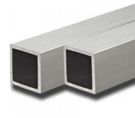 China Alloy 6063 / 6061 Aluminum Extrusion Rectangular Tube With ISO9001 supplier