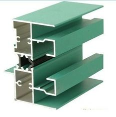 China 6005 T5 Aluminum Window Extrusion Profiles With Mill Finished / Powder painted / Anodized  Surface supplier