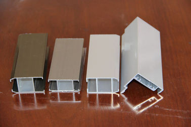 Golden Aluminum Window Extrusion Profiles