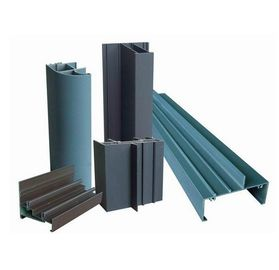 China PVDF Painted 6061 Aluminum Profile For Windows / Doors , Extruded Aluminum Framing Systems supplier
