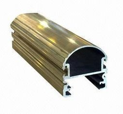 China Steel Polished Structural 6061 Aluminum Profile , Wood Grain Coated Extrusion Aluminum Profiles supplier