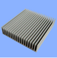 China Silver Mill Finished Aluminum Heatsink Extrusion Profiles  supplier