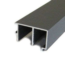 China Polished Aluminum Door Extruded Aluminum Framing / Extruded Aluminum Shapes Slide Rail supplier