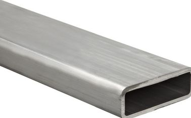 China Powder Painted Construction Aluminum Profile Rectangular Tubing Extrusions 6061 supplier