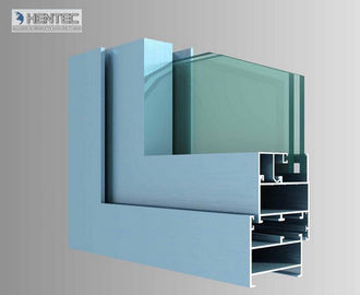 China Aluminum Wondow Extrusion Porfiles For Double Glazing Thermal Break Aluminium Casement Window supplier