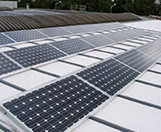 China Mill Finished / Anodized Aluminum Solar Panel Frame for Photovoltaic Solar Mounting supplier