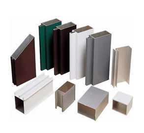 China Satin Anodized Aluminum Extrusion Profile , Construction aluminum extruded shapes supplier