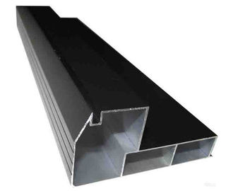 Customeized aluminium extruded sections , Powder Coating Aluminium Profiles