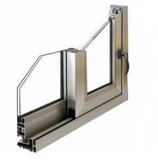 6063 / 6061 Construction Aluminum Profile , Window / Door Aluminum Extrusion Profiles
