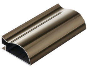 China Anodized Structural 6061 aluminium extrusion profiles , Industrial Aluminum Profile supplier