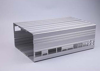China Aluminum Electrical Cover / Electronic Enclosure with CNC Machining supplier