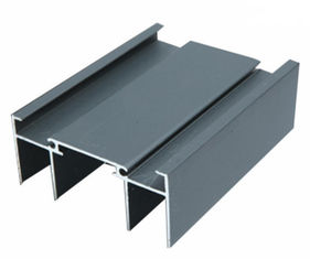 Powder Painted / Anodized Aluminum Extrusion Profiles For Side Hung Doors / Silding Doors