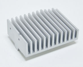 China Anodized Aluminium Heatsink Extrusion Profiles With Finished Machining supplier