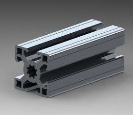 China OEM Aluminum Extrusion Profiles Extruded Aluminum Channel With Drilling / Cutting supplier