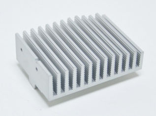 China Extruded Aluminum Heatsink Extrusion Profiles With Anodizing /  CNC Machining supplier
