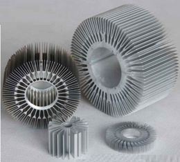 China OEM Customized LED Aluminum Heatsink Extrusion Profiles , Heat Sink / Radiator supplier