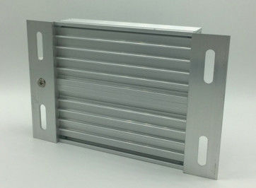 Silvery Anodizing T5 T6 Extruded Aluminum Case With Finished Machining